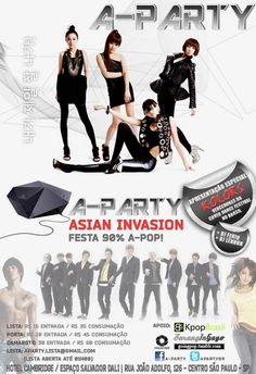 A-Party! Asian Invasion!