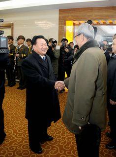 경애하는 최고령도자 김정은동지의 특사 니까라과공화국 대통령취임식에 참가하고 귀국