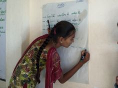 Before joining Balsena, Daksha was a shy girl who left school after 7th standard. She went on to become Balsena President, and thanks to Shaishav's help, is now studying at 10th standard. Read her story: http://www.childreach.org.uk/projects/children-charge-change