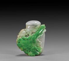 Snuff Bottle - Jadeite