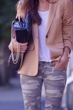 printed pants & jeans