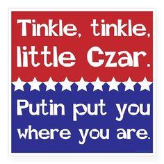 Tinkle Tinkle, Little Czar Sticker on CafePress.com