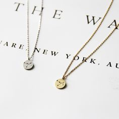 Gold Sagittarius Zodiac Pendant Necklace | The Alchemy Shop, LLC