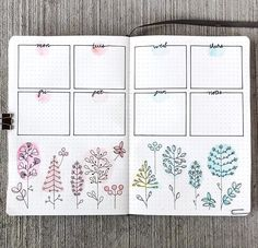 10 Bullet Journal Layouts You Can't Resist