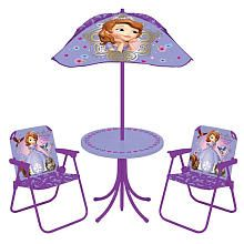 Disney Sofia the First Patio Set