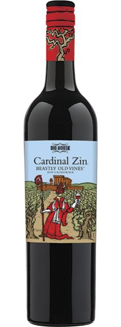 2010 Big House Cardinal Zin Beastly Old Vines. California $10