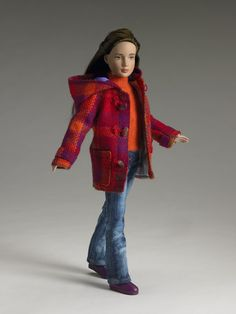 Marley Wentworth: at 12 inches she is just about a perfect size. Her coloration and this outfit: yum.