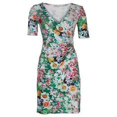 Jurk Eline Bloom White | SRNDPTY | Dresses Only
