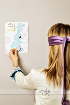 Pin the Tail on the Bunny-  you can download the game for free.  Cute and easy idea to add some fun to the holiday.