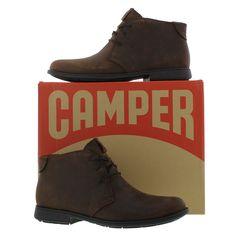 Camper Mens 1913 Chukka Boot - Waxy Dark Brown - £104.99