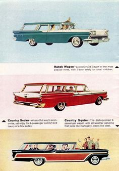 1959- Ford Station Wagon Living-28