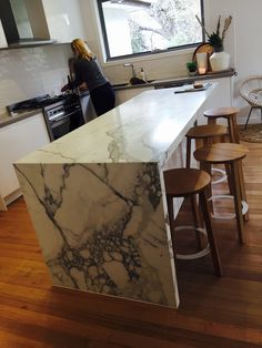 marble-kitchen-benchtops-melbourne-marble-suppliers-baasar-stone - The world's most private search engine Marble Countertops, Kitchen Countertops, Carara Marble, Kitchen Design, Kitchen Decor, Marble Suppliers, Kitchen Benchtops, Melbourne, Green Marble