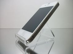 1 Clear Acrylic Stand Mount Holder for Cell Phones / iPod | eBay