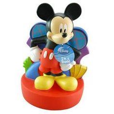 Mikey money box ,Disney figure character coin bank saver