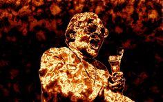 Desmond Tutu, la sonrisa que derrotó el apartheid. Desmond Tutu, Apartheid, Buddha, Darth Vader, Statue, Fictional Characters, Smile, Fantasy Characters, Sculptures