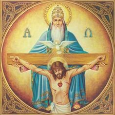 "Hari raya Tritunggal Mahakudus (Bapa Putera dan Roh Kudus). ""Allah Tritunggal Mahakudus"". #catholic #curch #God #Father #Son #Holyspirit #Pater #Filius #spiritussancti #holytrinity #sunday by caesario.14"