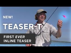 NEW! The Teaser-T - The First Ever Inline Teaser Rig for Saltwater and Freshwater - YouTube