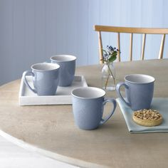 Every item in Denby's Elements collection can be used in the oven, dishwasher, freezer and microwave