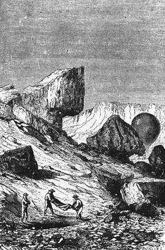 The Illustrated Jules Verne: Cinq semaines en ballon Jules Verne, Science Fiction, Domaine Public, Gustave Dore, Sea Crafts, Pulp Art, Gravure, Arrow Keys, Close Image