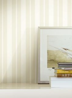 Ashford Striped Wallpaper Adds Fab To Your Walls. http://decoratingheaven.com.au/ashford-striped-wallpaper/
