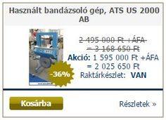 http://www.amcokft.hu/Hasznalt-bandazsolo-gep-ATS-US-2000-ABBemutatoterm