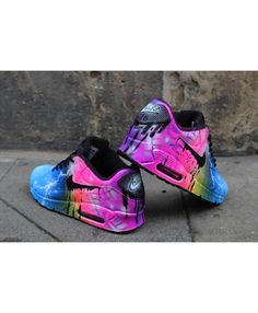 cccb969c9 Deals Nike Air Max 90 Candy Drip Rainbow Black Trainer & Shoes from UK  online store, any order of your selected will enjoy great discount!