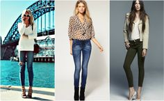 Французская мода - Узкие джинсы