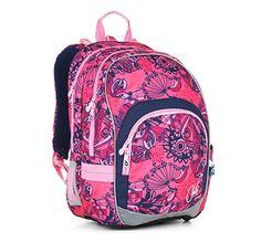 Školní batoh CHI 871 H - Pink