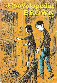 Encyclopedia Brown, Boy Detective   I loved these books when I was a kid!