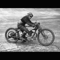 Old Norton Motorcycle Racer
