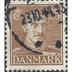 DENMARK, King Christian X, brown 1943, 25ore, #5 Listing in the Denmark,Europe,Stamps Category on eBid United Kingdom | 145454879