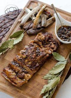 Costillas de cerdo confitadas al horno · pepa cooks