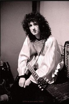 """The guitar has a kind of grit and excitement possessed by nothing else.' - Brian May"