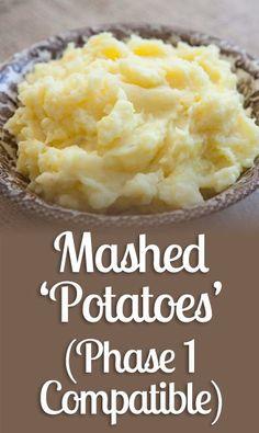 Mashed 'Potatoes' (Phase 1 Compatible) - Nutrition World