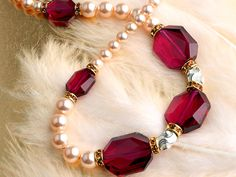 Regal Necklace - I made this for a gift with bacelet and earrings and it was stunning!