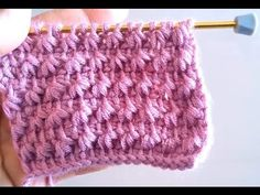 Tunisian Crochet - Business New Model Making 5 (IN TURKISH - If you are familiar with Tunisian Crochet you can watch this video to learn this stitch... The video is good... Deb)