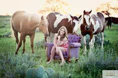 I love this except the chair, I would rather sit on a hay bale. Could do this picture with Logan and/or sisters