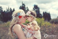 Inspiration for Mom + child photography poses. Family Photo Session Ideas | Props | Prop | Child Photography | Clothing Inspiration| Fashion | Pose Idea | Poses | Mommy & Baby Girl
