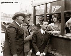 Buster Keaton and Marceline Day in The Cameraman - goldensilents.com