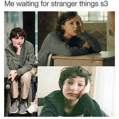 Stranger Things Finn Wolfhard and MBb Funny Video Memes, Videos Funny, Don T Lie, Cast Stranger Things, Cinema, Millie Bobby Brown, Funny Cute, Hilarious, Pretty Little Liars