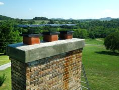 Chimney Dampers - These prevent heat or cold air from escaping through the flue, saving you money on heating and air costs.