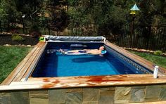 This outdoor installation provides a smooth current to swim in place; it's fully adjustable for every level, from Olympians to octogenarians. And when you're not swimming, it functions just like any other pool.