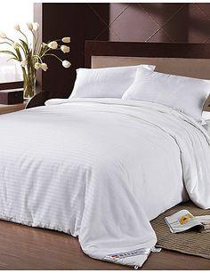 H&C Home Textile King Silk White Comforter 100% Cotton Silk Blanket Four Seasons Silk Quilt Blanket Striped Bedding Set , queen - http://aluxurybed.com/product/hc-home-textile-king-silk-white-comforter-100-cotton-silk-blanket-four-seasons-silk-quilt-blanket-striped-bedding-set-queen/