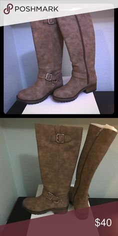 Unlisted by Kenneth Cole Rugged Brown Boots Brand new in the box! Unlisted by Kenneth Cole Production. Style: Tough Break Boots. Size: 6. Thick soles and reinforced toe, very durable! Unlisted Shoes Winter & Rain Boots