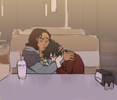 Lance's mom would so treat Keith like another son