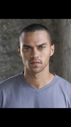 Jesse Williams, Blue Eyes, Anatomy, Grey, Fictional Characters, Actors, Figurine, Gray, Fantasy Characters
