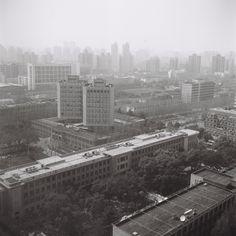 at Tongji University, Shanghai, in March, by Zhang Hao 120 Film, Shanghai, Skyscraper, Multi Story Building, University, March, Photos, Skyscrapers, Pictures