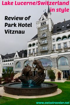 Park Hotel Vitznau, a staycation in one of Switzerland's most prestigious resorts Park Hotel, Staycation, Luxury Travel, Statue Of Liberty, Switzerland, Travel Tips, Restaurants, Core, Rooms