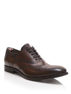 ALEXANDER MCQUEEN Punched Leather Brogues....doubt I will ever get him in these.