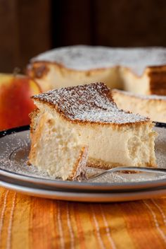 German Quark Cheesecake  Käsekuchen